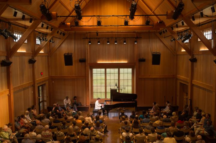 Concert piano hall
